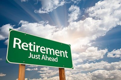 Retirement Just Ahead Sign