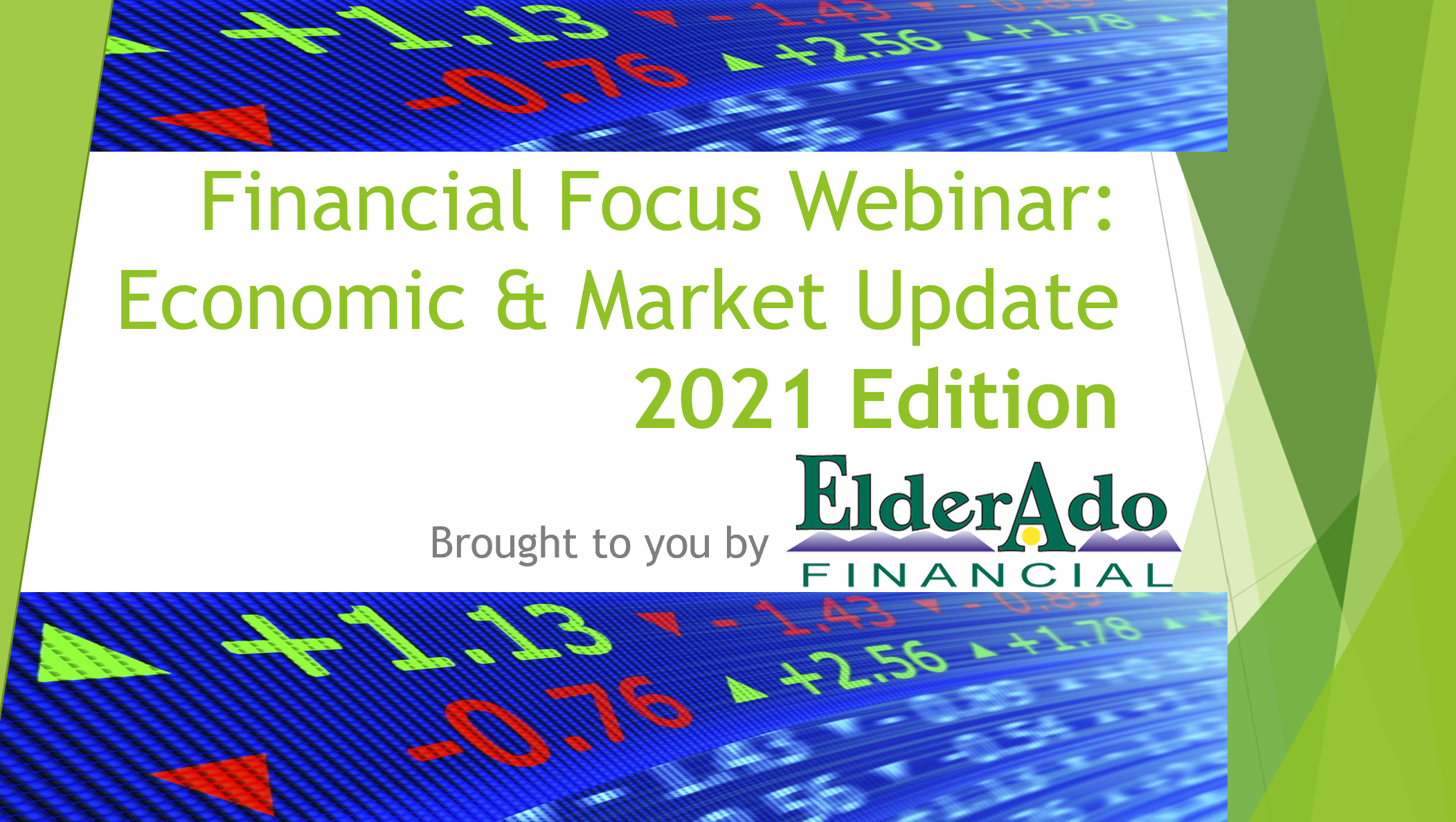 2021 Outlook and Tax Saving Strategies Webinar Featured image