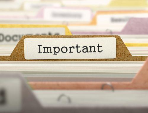 Important Document Checklist